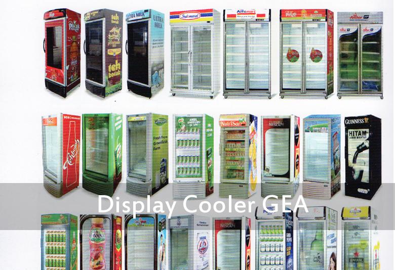 Distributor Display Cooler GEA