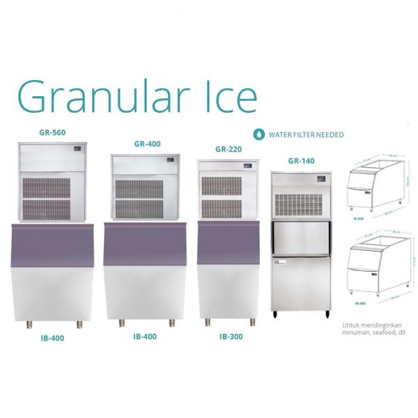 Granular Ice cover