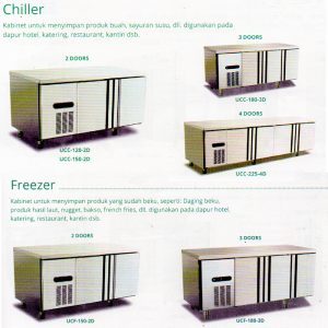 Undercounter Chiller - Freezer