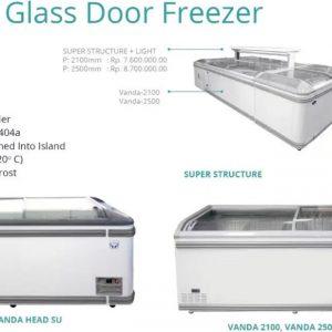 VANDA GLASS DOOR FREEZER